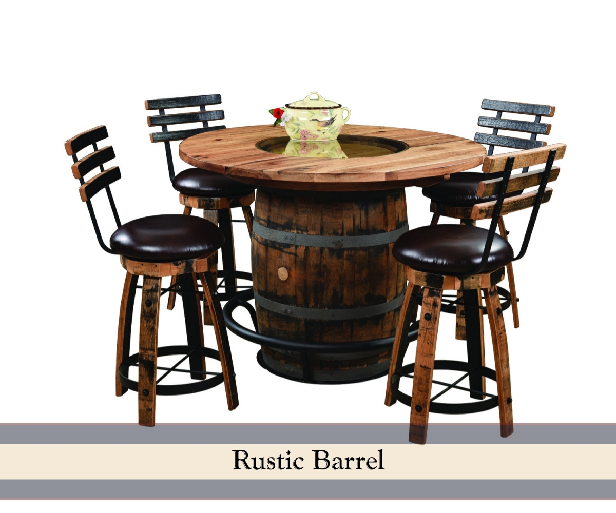 Most Popular - Barrel Pub Table